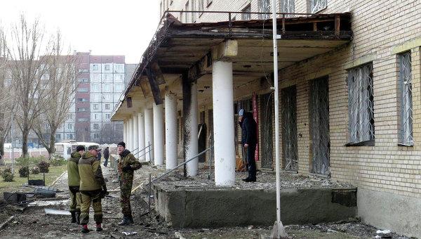 """Украинската армия обстреля с """"Ураган"""" болница в Донецк"""