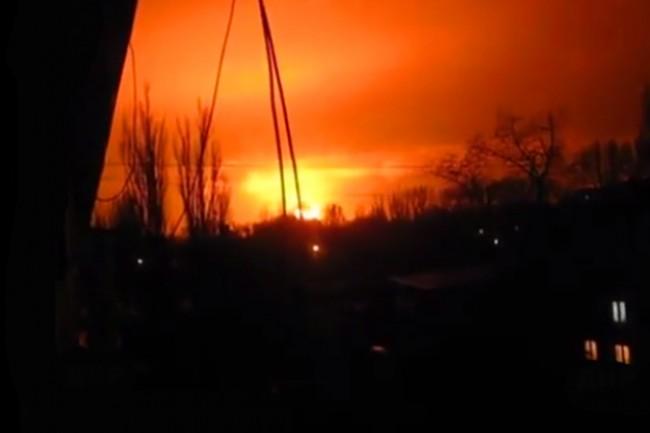 Украинската армия обстреля завод за боеприпаси в Донецк, има ранени