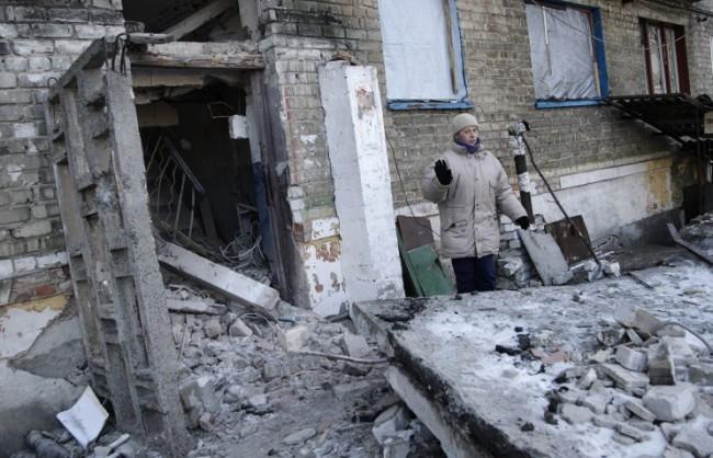 Ситуацията в Дебалцево е близка до хуманитарна катастрофа