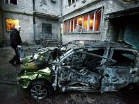 Мощни взривове отекват в Донецк