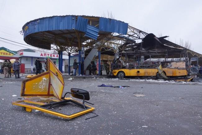 Четирима загинаха при обстрел на украинската армия в центъра на Донецк
