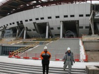 """Зенит Арена"" е готов на над 65%"
