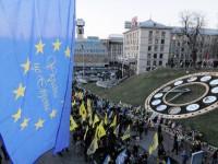 Участниците в Евромайдана се прощават с Украйна
