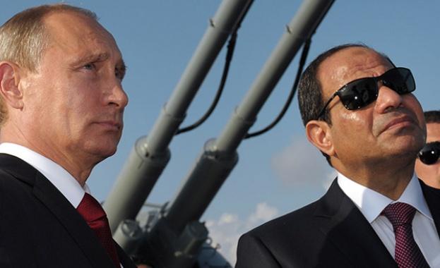 Путин с визита в Египет