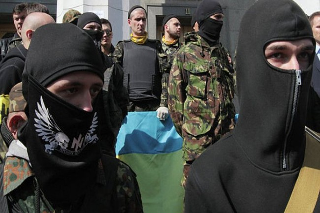 """""""Десен сектор"""" насила превзе църква в Черкаска област"""