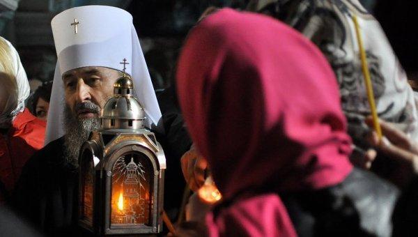 Главата на Украинската православна църква призова вярващите за усилен пост