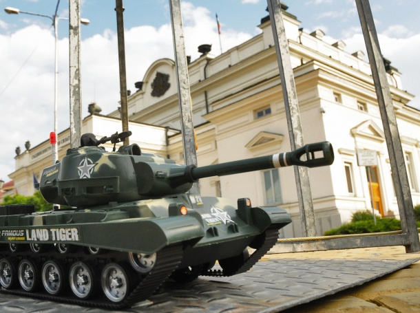Американските танкове идват в България