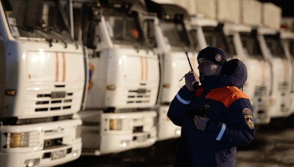 От Русия тръгна 16-ти хуманитарен конвой за Донбас