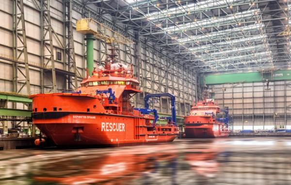 Русия получи два свръхмодерни спасителни кораба