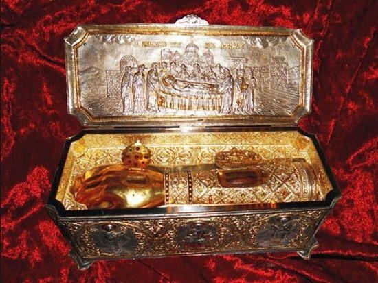 В Москва пристигнаха мощите на Свети Димитър Солунски