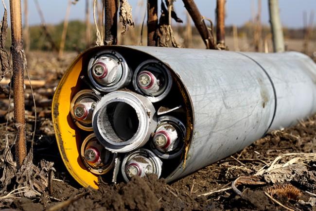 Луганск обстрелян с касетъчни боеприпаси