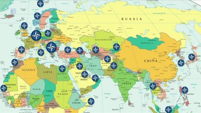 Командни центрове на НАТО по границите на Русия