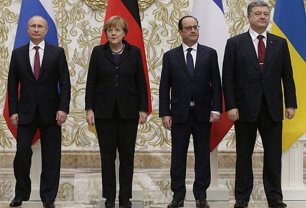 """Декларация на """"Нормандската четворка"""" от 12 февруари 2015"""