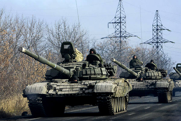 Опълченците изтеглиха военната техника, очакват същото от Киев