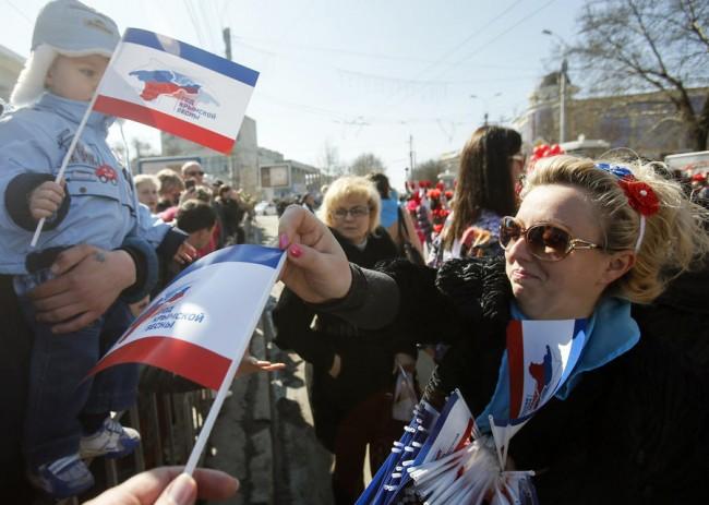 Крим отбелязва първата годишнина от присъединяването към Русия