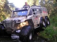 G63 AMG 6×6 по руски