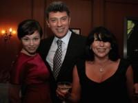 Първото семейство на Немцов. Жена му Раиса Ахметова и  тяхната дъщеря Жана