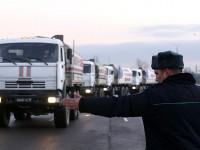 В Донбас пристигна поредният хуманитарен конвой от Русия