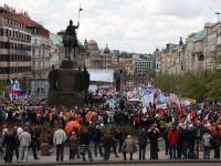 """Протести в Прага с викове """"Позор за НАТО"""""""
