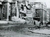 Пораженията, нанесени на Народния театър от бомбардировките