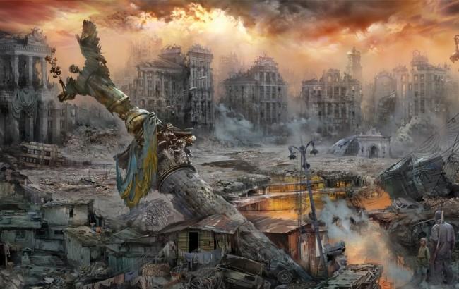 Краят на историята настъпва от Украйна