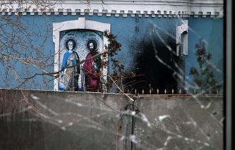 Служители на СБУ оскверниха храм на УПЦ на Московската Патриаршия в Киевска област