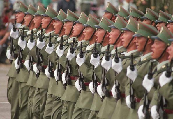 Китайска армия ще марширува на Червения площад