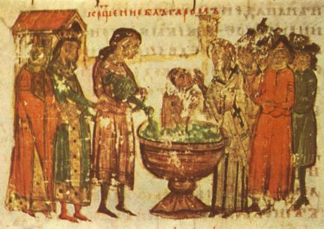 Св. равноапостолен цар Борис-Михаил, покръстител на българския народ