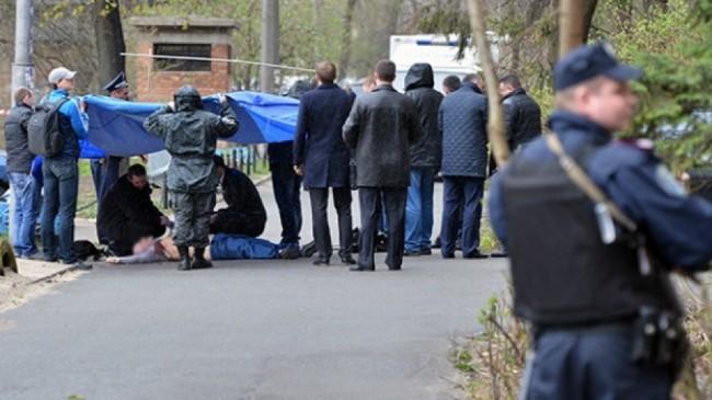 Олес Бузина е застрелян пред дома му, докато е тичал