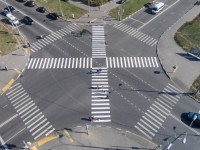 В Русия въвеждат диагонални зебри
