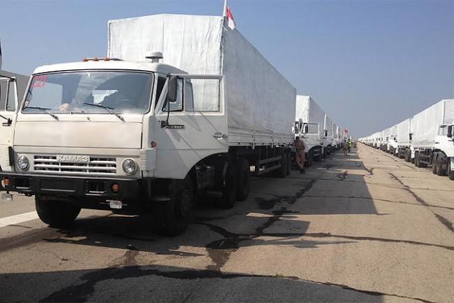 Русия изпрати 23-ти хуманитарен конвой в Донбас