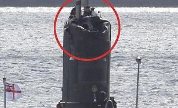 Британски моряци потрошиха подводница, следейки руски кораби