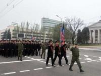 В Донецк се проведе репетиция на Парада на Победата