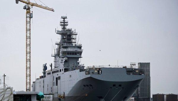 Франция предлага на Русия разтрогване на договора за корабите Mistral срещу 785 млн. евро