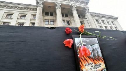 В Одеса събират подписи за издигането на мемориал в памет на загиналите в Дома на профсъюзите