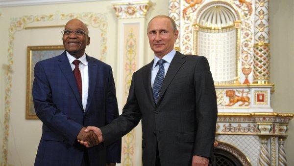 The Global Post: Президентът на ЮАР се върна от Русия във възторг от нейния лидер