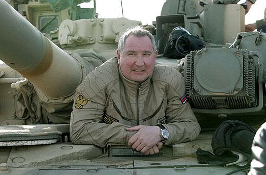 """Рогозин за санкциите на ЕС и САЩ: """"Танковете нямат нужда от визи"""""""