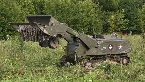 "Военните роботи ""Уран"" успешно преминаха изпитания в Южна Русия (Видео)"