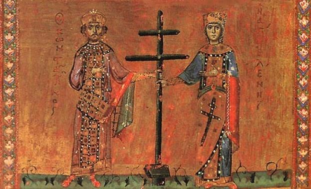 Възнесение Господне (Спасовден). Св. велики царе равноапостолни Константин и Елена