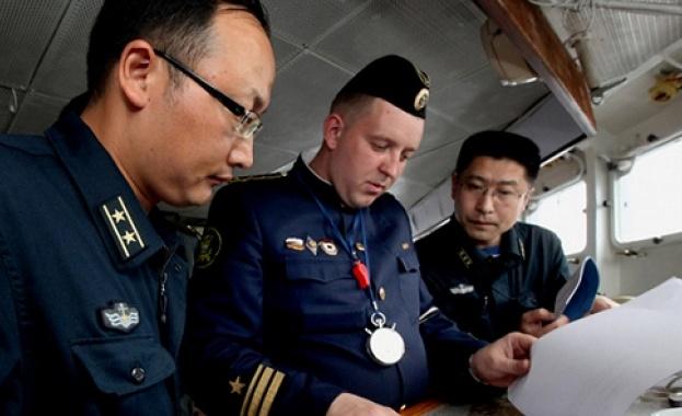 Кораби на Русия и Китай започнаха учения в Средиземно море