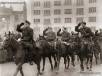 Посрещане на Българската армия, София 1945г.