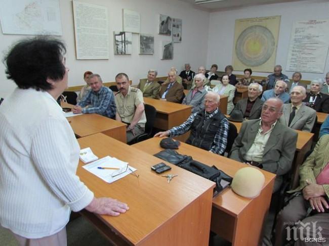 Ветераните от войните в Русе получиха юбилейни медали за 9 май