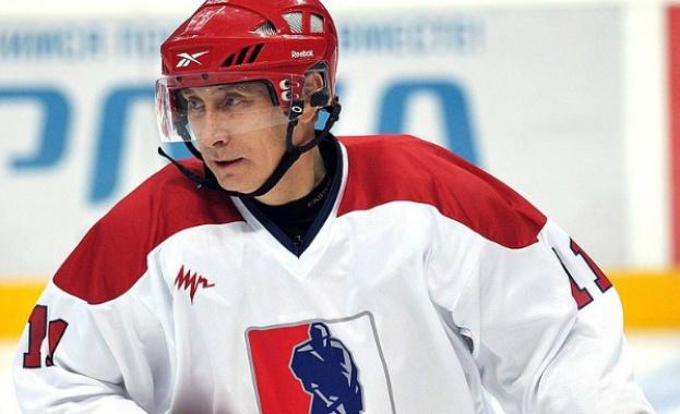 Путин излезе на леда
