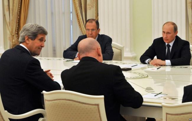 Джон Кери ще се срещне с Путин и Лавров в Сочи