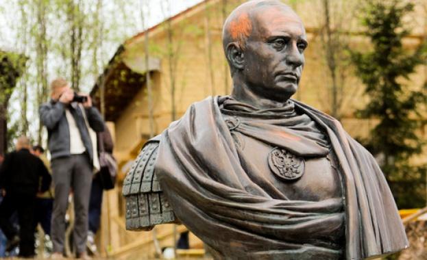 Казаци увековечиха Путин като император