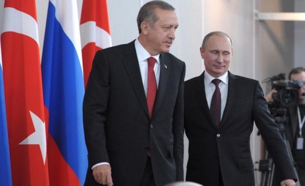 """Путин и Ердоган ще обсъдят """"Турски поток"""""""
