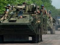 Украинските военни върнаха тежкото въоръжение на линията на съприкосновение с опълченците