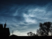 Сребристи светещи облаци се появиха над Челябинск