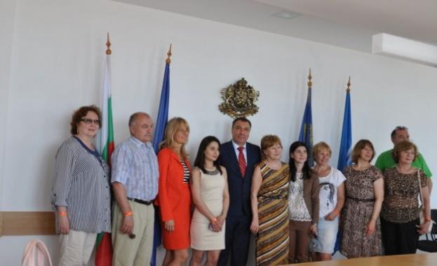 Журналисти от Москва посетиха Несебър