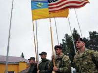 Американски войници от 173-а бригада на учение в Украйна